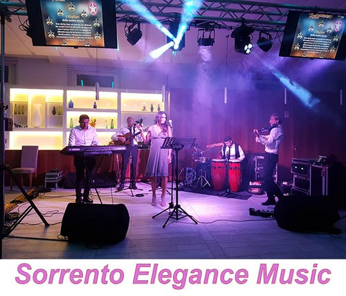 Pianobar e Musica - Musica eventi Sorrento Elengace Music - Sorrento