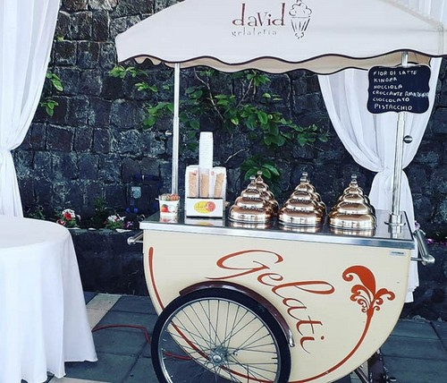 matrimonio sorrento: Carretto Gelati David - OFFERTA DEL MOMENTO