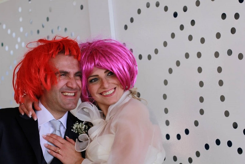 Matrimonio a Sorrento: - Selfie Machine Photo Booth Macchina Photo Booth