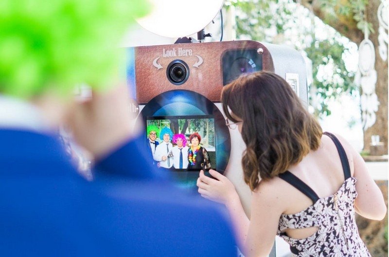 Matrimonio a Sorrento: - Selfie Machine Photo Booth