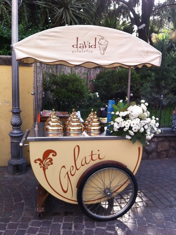 Matrimonio a Sorrento: - Carretto Gelati David