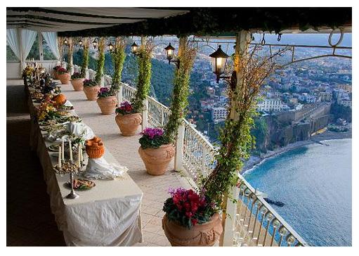 Matrimonio Natalizio Sorrento : Megamare ricevimenti matrimonio a sorrento
