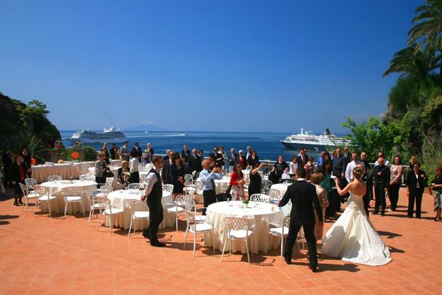 Matrimonio Tema Sorrento : Hotel corallo matrimonio a sorrento