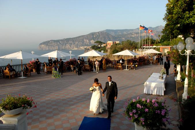 Matrimonio In Europa : Grand hotel europa palace matrimonio a sorrento