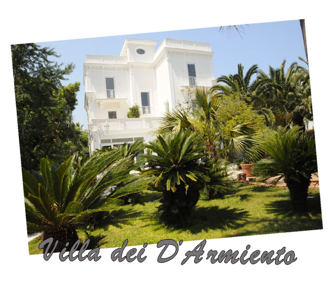 Location e Ville private Villa Dei D'Armiento