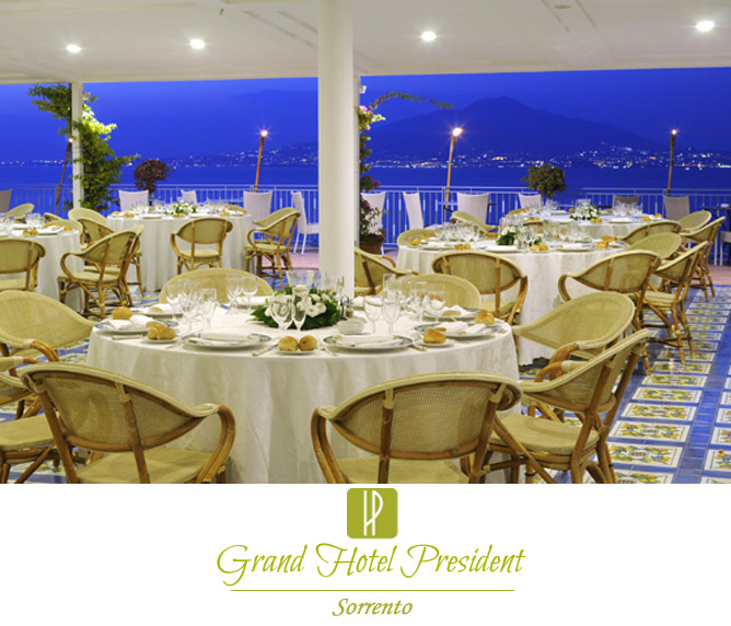Grand Hotel President. Matrimonio a Sorrento