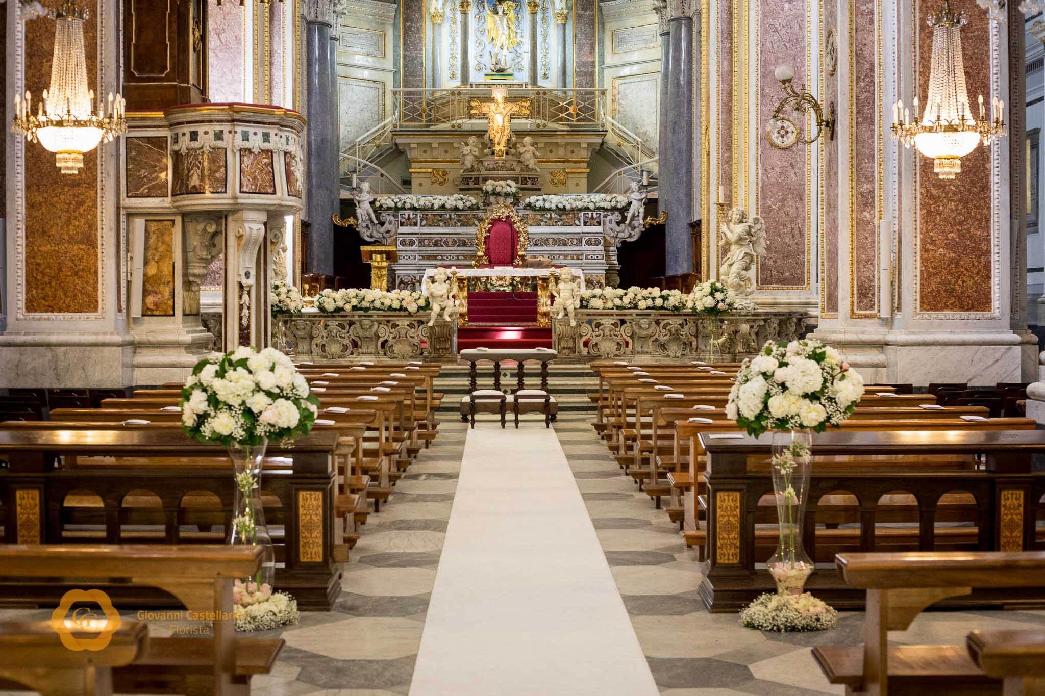 Matrimonio in Chiesa a Sorrento - Chiesa di Meta