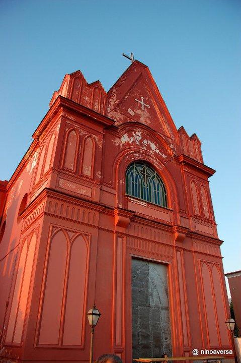 La Facciata della Chiesa Rossa